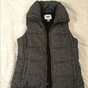 Like New Old Navy Gray Vest Size Small